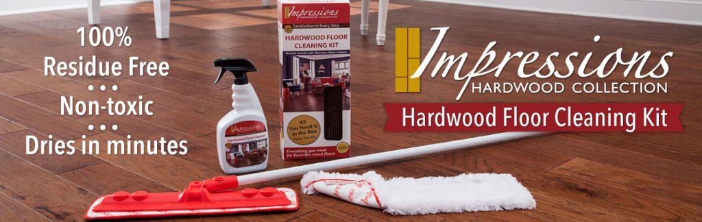 Impressions Hardwood Floor Cleaning Kit